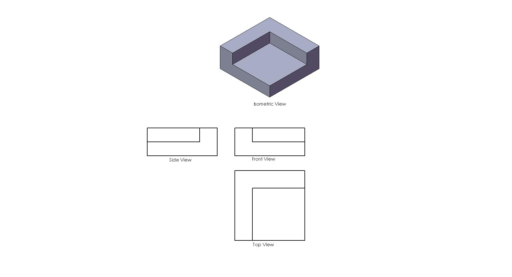 Mechanicalmilon mechanicalmilon example of first angle projection a mm1 biocorpaavc Gallery